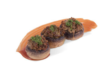 Picture of Stuffed Spicy Mushrooms