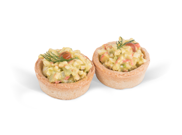 Picture of Crab & Avocado Tartlet