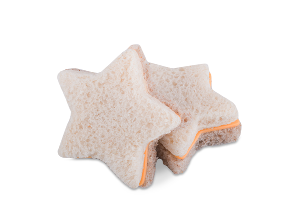 Picture of Star Shaped Cheese Sandwich