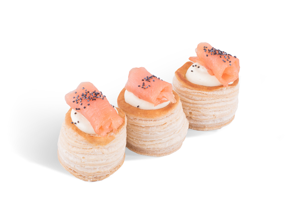 Picture of Smoked Salmon Vol - au - Vent