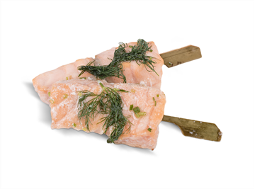 Picture of Salmon Skewer