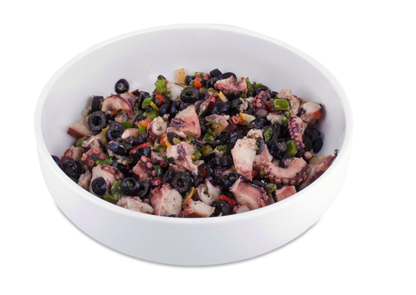 Picture of Octopus Salad (Tray serving 25 guests app. 500 grams)