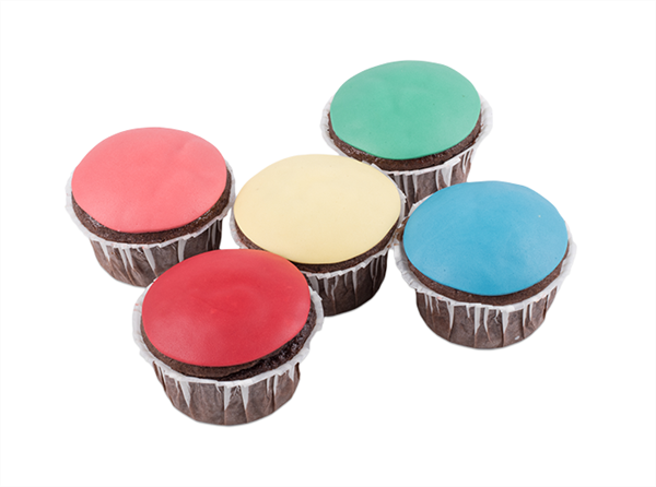Picture of Coloured Cupcakes
