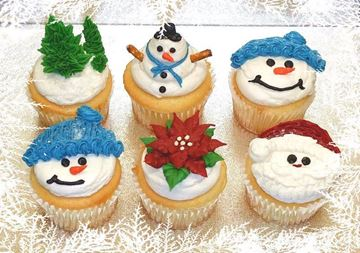 Picture of Christmas Cupcakes