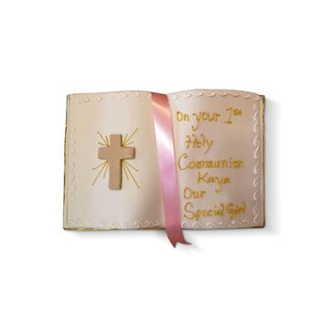 Picture of Holy Communion almond open book