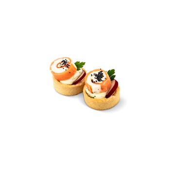 Picture of Smoked Salmon Roulade Canape
