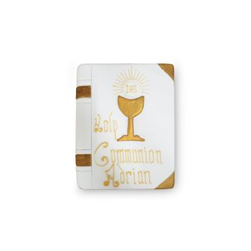 Picture of Holy Communion almond closed book